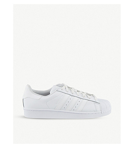 ADIDAS Superstar 1 trainers (White+mono+foundatio