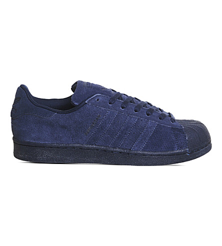 ADIDAS Superstar 1 suede trainers (Night indigo