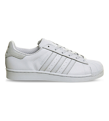 ADIDAS Superstar 1 leather trainers (Halo blue
