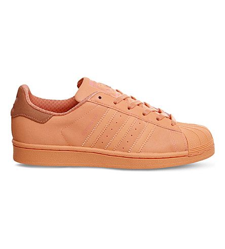 ADIDAS Superstar 1 leather trainers (Sun glow