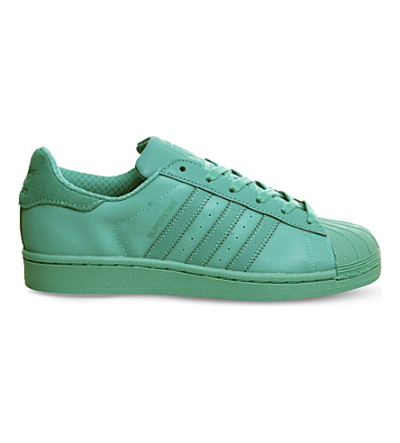 ADIDAS Superstar 1 leather trainers (Shock mint