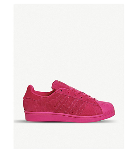 ADIDAS Superstar 1 suede trainers (Eqt pink mono
