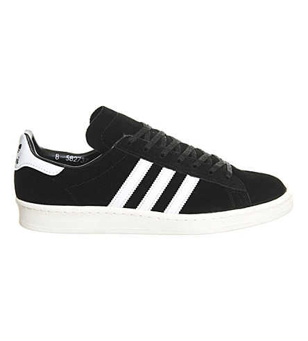 ADIDAS Campus 80's suede trainers (Core black white