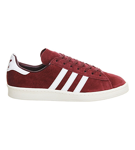 ADIDAS Campus 80's suede trainers (Burgundy white