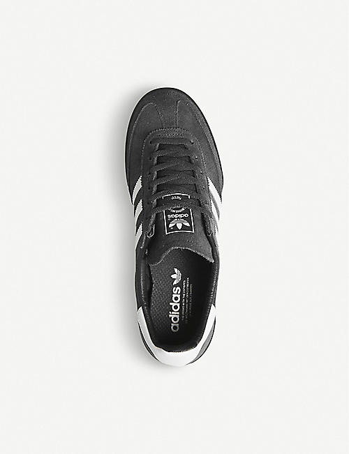 ADIDAS Jeans suede trainers