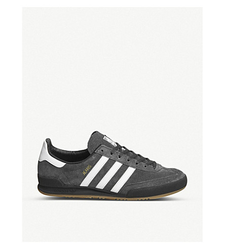 ADIDAS Jeans suede trainers (Carbon+grey+one