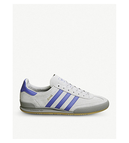 ADIDAS Jeans suede trainers (Grey+two+hi+res+blue