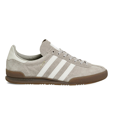 ADIDAS Jeans suede sneakers (Light+brown+gum