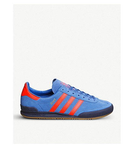 ADIDAS Jeans suede trainers (Trace+royal+red