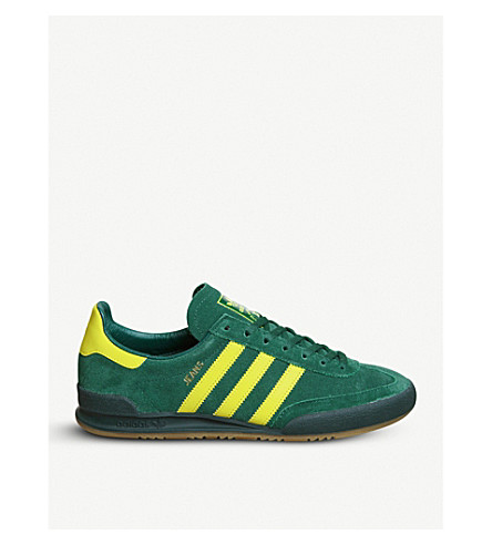 ADIDAS Jeans suede trainers (Collegiate+green