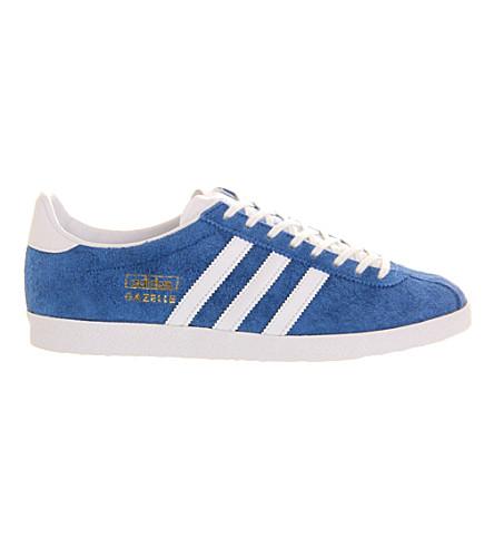 ADIDAS Gazelle OG trainers (Af+bluewhite
