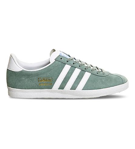 ADIDAS Gazelle OG suede trainers (Legend green