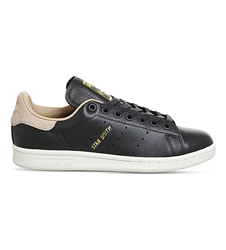 ADIDAS Stan Smith leather trainers (Utility+black+nude