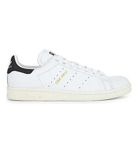ADIDAS Stan Smith leather trainers (Premium+black+white