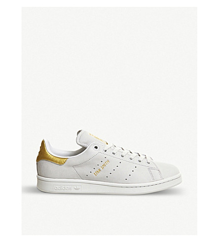 ADIDAS Stan Smith leather trainers (White 24 k gold