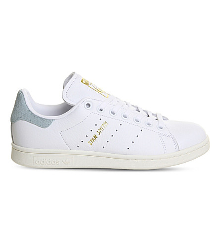 ADIDAS Stan Smith leather trainers (White+tactile+green