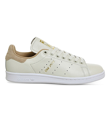 ADIDAS Stan Smith leather trainers (Off+white+pale+nude