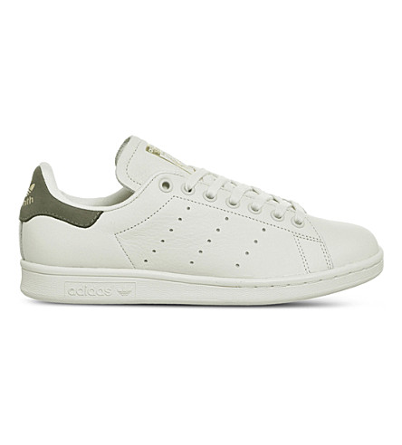 ADIDAS Stan Smith leather trainers (Chalk+white+cargo