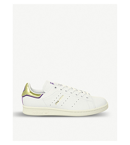 cheaper cbb9f 5fa7b ADIDAS Stan Smith Elizabeth Line leather trainers