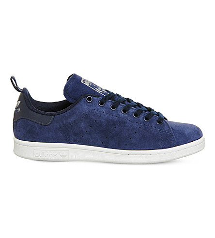 ADIDAS Stan Smith low-top suede trainers