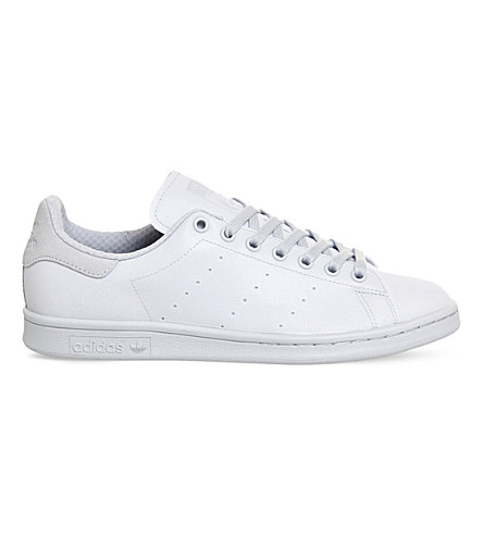 ADIDAS Stan Smith leather trainers (Halo blue ss16