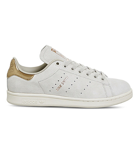ADIDAS Stan Smith suede trainers (Clear+brown+copper