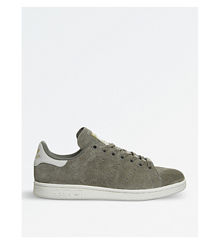ADIDAS Stan Smith suede trainers (Trace+cargo+cream