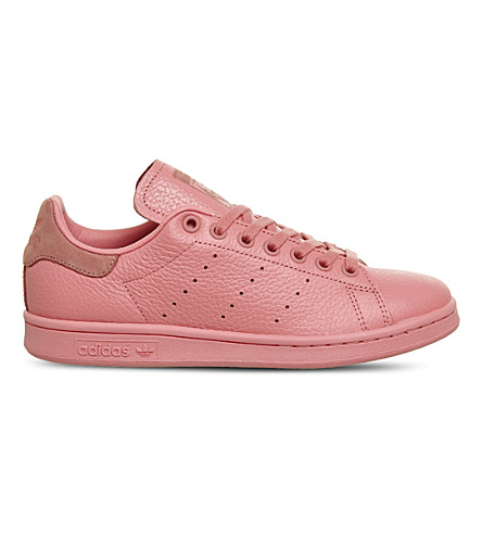 ADIDAS Stan Smith leather trainers (Tactile+rose+pink