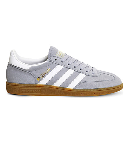 ADIDAS Spezial lace-up suede trainers (Light+grey