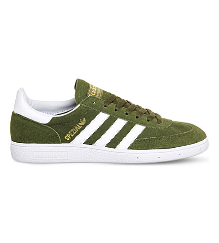 ADIDAS Spezial suede trainers (Green crystal white