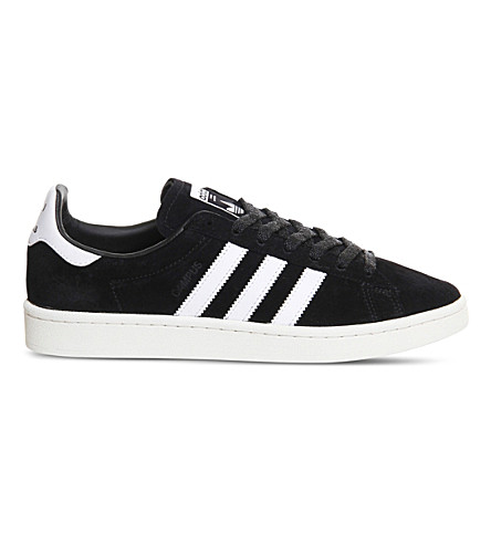 ADIDAS Campus suede sneakers (Black+chalk+white
