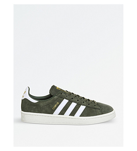 ADIDAS Campus leather trainers (St+major+white