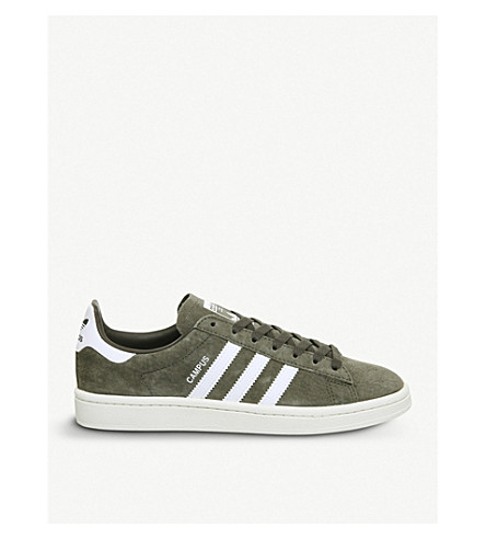 ADIDAS Campus suede trainers (Branch+white