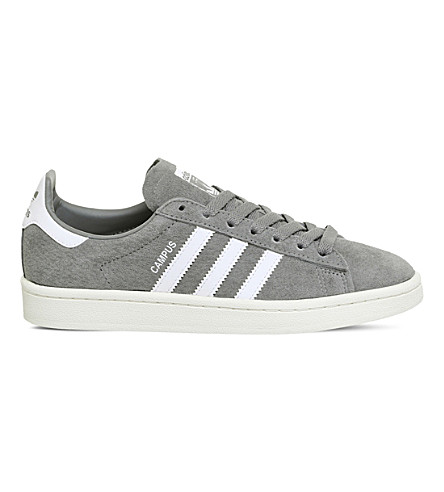 ADIDAS Campus suede trainers (Grey+three+white