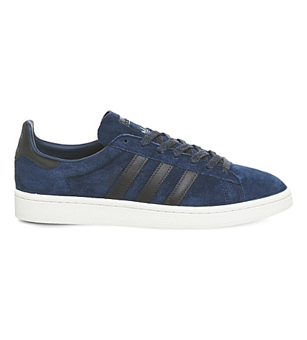 ADIDAS Campus suede trainers (Mystery+blue+night