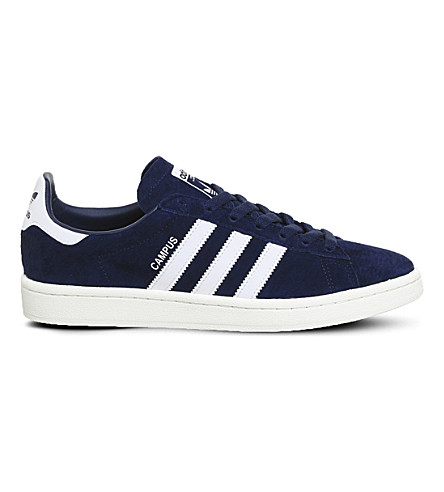 ADIDAS Campus suede trainers (Dark+blue+white