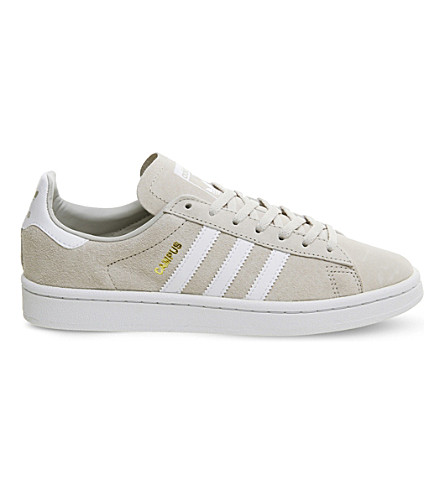 ADIDAS Campus suede trainers (Clear+brown+white
