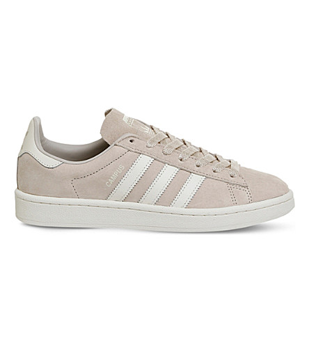 ADIDAS Campus suede sneakers (Clear+brown+white