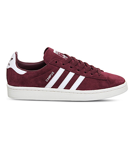 ADIDAS Campus suede trainers (Collegiate+burgundy