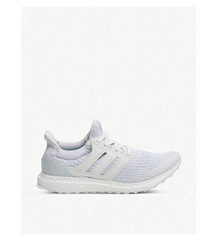 ADIDAS Ultra Boost running shoes (Icey+blue+parley