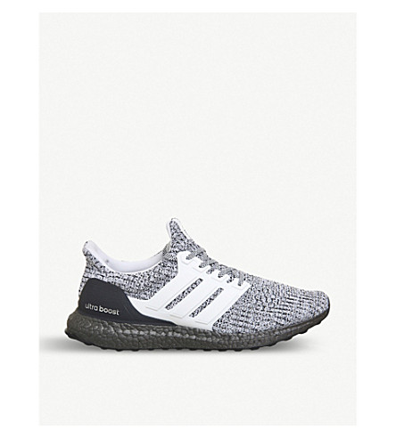 ADIDAS Ultra boost woven trainers (Grey+white+black