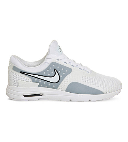 NIKE Air Max Zero mesh trainers (White+black+w