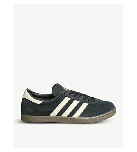 ADIDAS Tobacco low-top suede trainers (Core+black+brown
