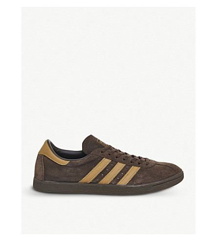 ADIDAS Tobacco low-top suede trainers (Brown+mesa+gum