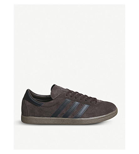 ADIDAS Tobacco low-top suede trainers (Red+night+f17+black