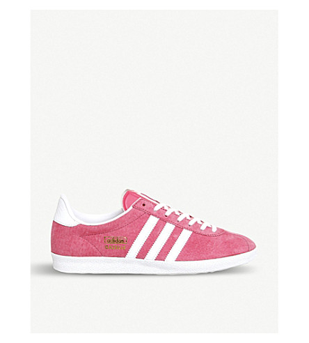 ADIDAS Gazelle OG suede trainers (Pink white gold