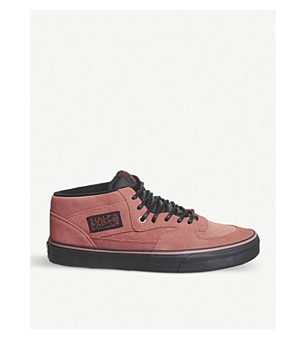 VANS Half Cab Pro suede trainers (Faded+rose+black
