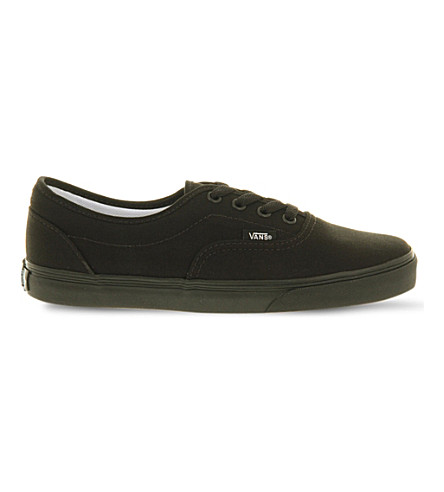 VANS LPE canvas sneakers (Black