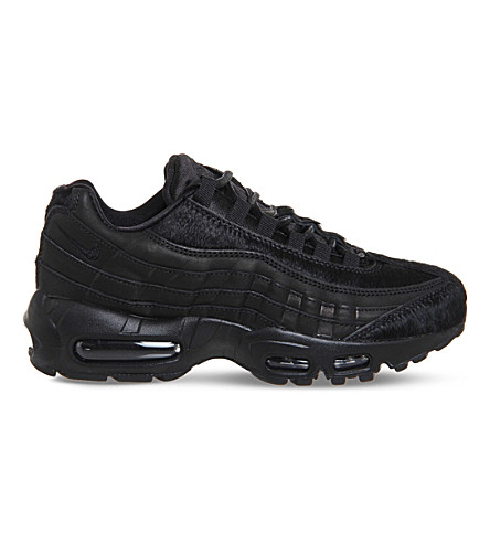 NIKE Air Max 95 mesh trainers (Black black pony