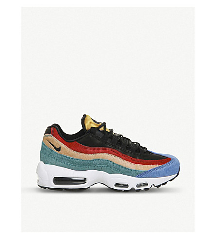 NIKE Air max 95 pony hair trainers (Multi pony